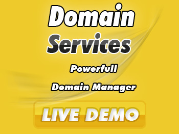 Half-price domain name registration services